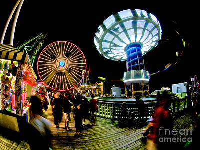 Wildwood Is A Happy Place Print by Mark Miller