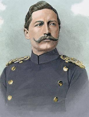 Engraving Photograph - Wilhelm II Of Germany (potsdam by Prisma Archivo