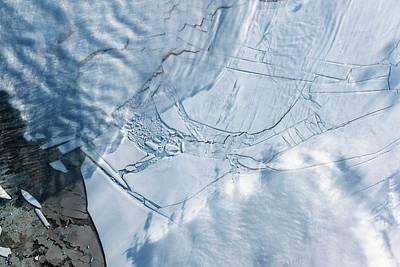 Wilkins Ice Shelf Print by Nasa