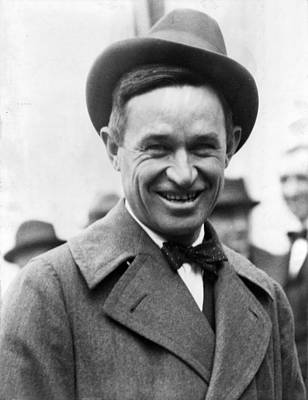 Will Rogers Digital Art - Will Rogers 2 by Unknown