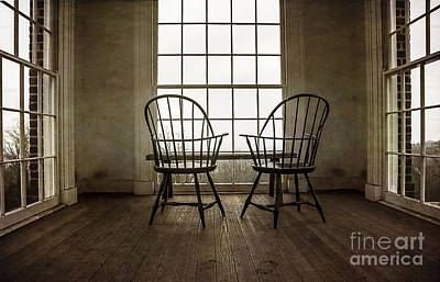Contemplating Photograph - Will You Sit With Me? by Terry Rowe