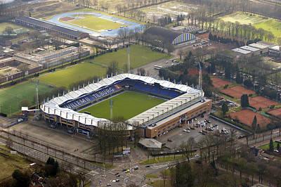 Willem 2 Stadion, Tilburg Print by Bram van de Biezen