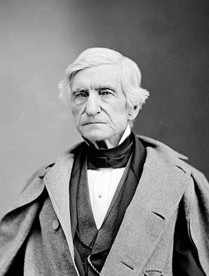 William Barton Rogers Print by Library Of Congress