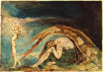 1757-1827 Drawing - William Blake, British 1757-1827, Dream Of Thiralatha by Litz Collection