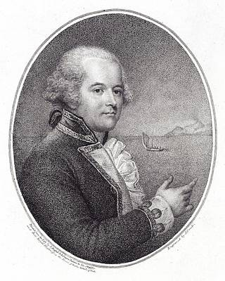 William Bligh, British Naval Officer Print by British Library