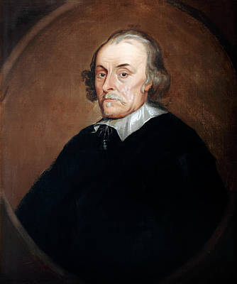 William Harvey Print by Bodleian Museum/oxford University Images