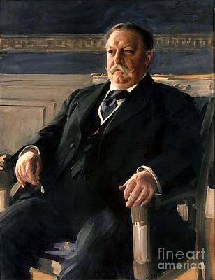 Zorn Painting - William Howard Taft by Anders Zorn