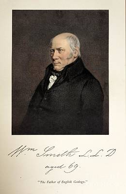 William Smith, English Geologist Print by Paul D. Stewart