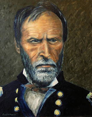 William T. Sherman Original by Daniel W Green