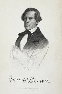 Slavery Photograph - William W. Brown by British Library
