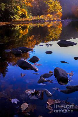 Williams River Autumn Reverie Print by Thomas R Fletcher