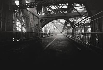 City Photograph - Williamsburg Bridge - New York City by Vivienne Gucwa