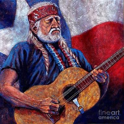 Willie Nelson Original by John Cruse Knotts