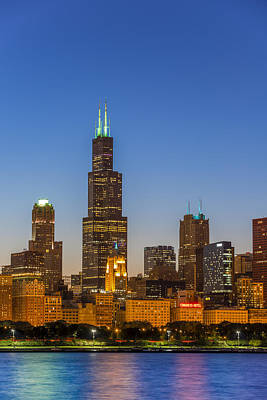 Sears Tower Photograph - Willis Tower by Sebastian Musial