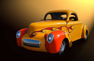Willys 3 Print by Bill Dutting