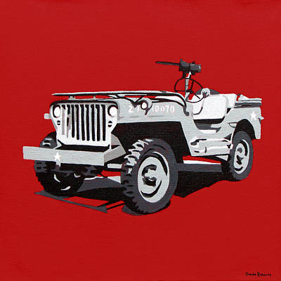 Painting - Willys Jeep by Slade Roberts
