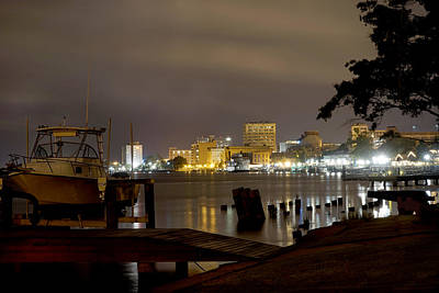 River Scenes Digital Art - Wilmington Riverfront - North Carolina by Mike McGlothlen