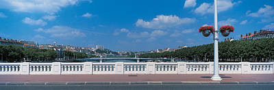 Lyon France Photograph - Wilson Bridge Lyon France by Panoramic Images