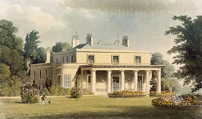 Wimbledon Park, From R. Ackermanns Print by Thomas Hosmer Shepherd