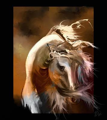 Windblown Digital Art - Wind by Angela Baird