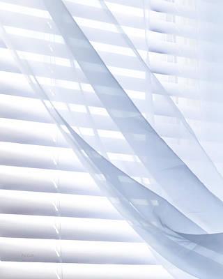 Wind Blue Window Print by Bob Orsillo