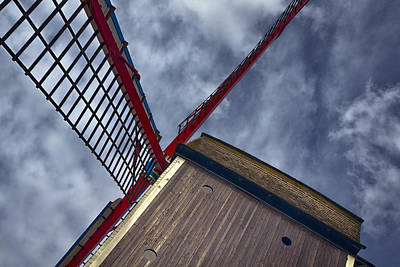 Machinery Photograph - Wind Power by Joan Carroll
