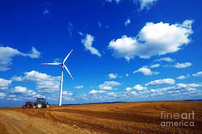 Freshness Photograph - Wind Turbine by Michal Bednarek