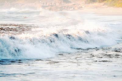 Windansea Waves Print by Tanya Harrison