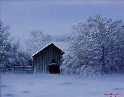 Windberg Barn Print by Gene Gregory