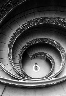 Winding Stairway Print by Thomas D McManus