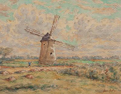 Power Painting - Windmill Of Artois by Henri Duhem