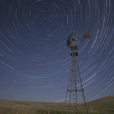 Windmill Stars Print by Latah Trail Foundation