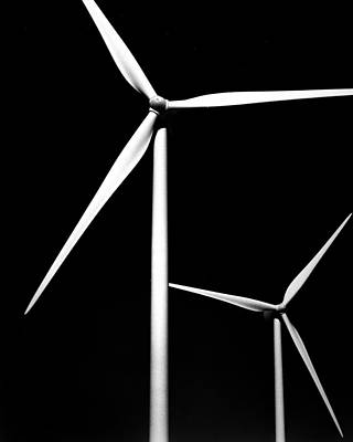 Abstract Windmill Photograph - Windmills by Alex Snay