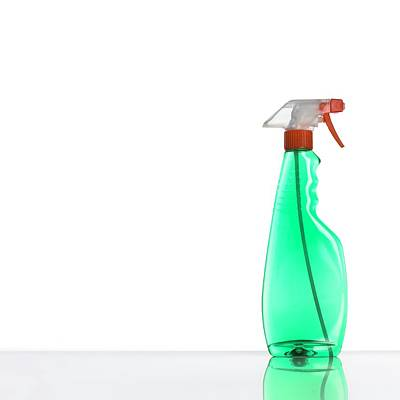 Polymer Photograph - Window Cleaner by Science Photo Library