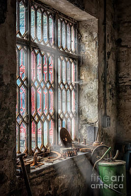 Web Digital Art - Window Decay by Adrian Evans