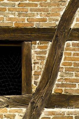 Window Frame Detail 1 Print by Heiko Koehrer-Wagner