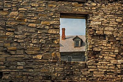 Window In A Window Print by Paul Freidlund