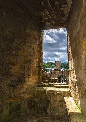 Window In Linlithgow Palace Print by Andreas Berthold