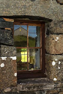 Window In Sky Print by Iris Richardson