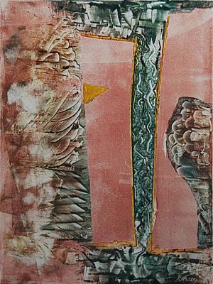 Printmaking Painting - Window Of Opportunity by Alexandra Jordankova