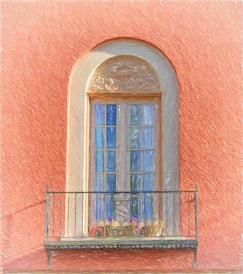 Window Reflection Print by Kim Hojnacki