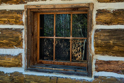 Window Reflection Print by Paul Freidlund