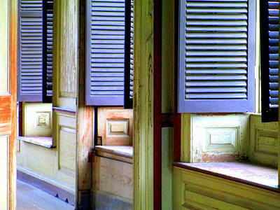Window Seats Print by Randall Weidner