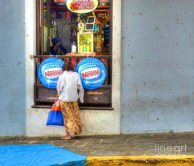 Window Signs Photograph - Window Shopping by Debbi Granruth