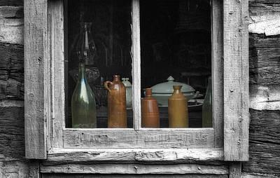 Window Sill Print by Jack Zulli