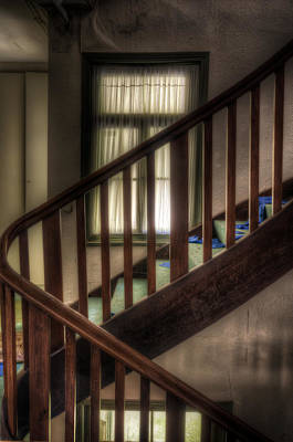 Window Stairs Print by Nathan Wright