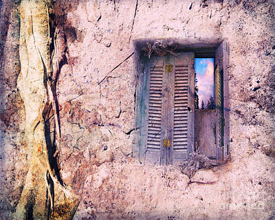 Wall Mural Photograph - Window To Your Soul by VIAINA Visual Artist