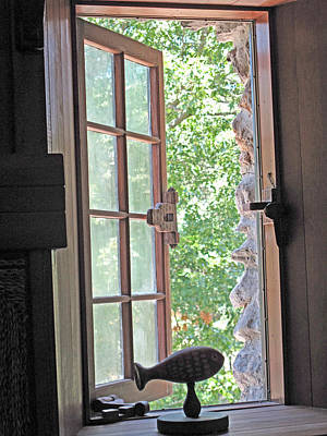 Window With A View Print by Barbara McDevitt
