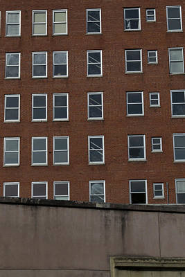 Windows And Walls Original by Mike Waddell