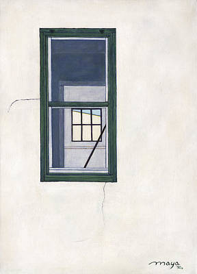 Las Cruces Painting - Windows And Walls by Illusions Maya